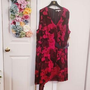 RACHEL Rachel Roy Dresses - New $180 RACHEL Roy Draped Velvet Fit Flare Dress